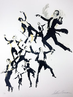 Fred Astaire 1983 Limited Edition Print - LeRoy Neiman