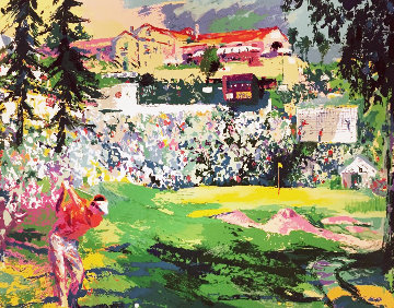 Amphitheater At Riviera Golf Course 1992 Limited Edition Print by LeRoy Neiman