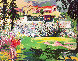Amphitheater At Riviera Golf Course 1992 Limited Edition Print by LeRoy Neiman - 0