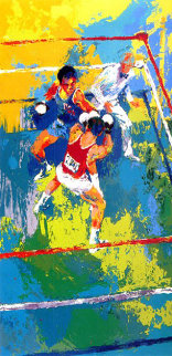 Olympic Boxers 1980 Limited Edition Print by LeRoy Neiman