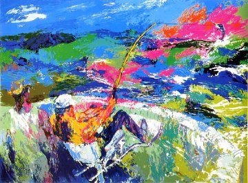 Marlin Fishing AP 1981 Limited Edition Print by LeRoy Neiman