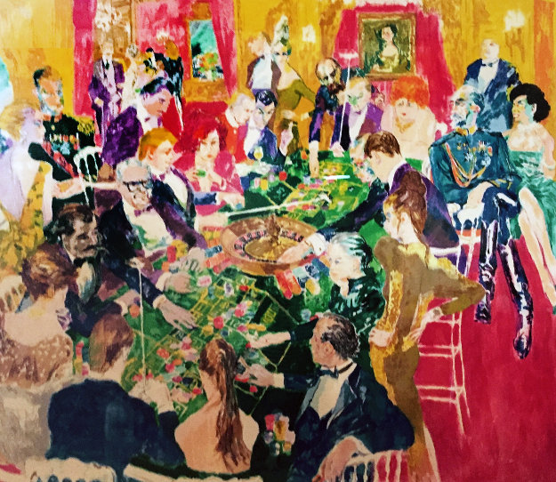 Baden Baden 1987 Limited Edition Print by LeRoy Neiman