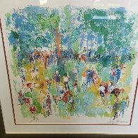 Paddock AP 1974 Limited Edition Print by LeRoy Neiman - 1