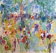 Paddock AP 1974 Limited Edition Print by LeRoy Neiman - 0