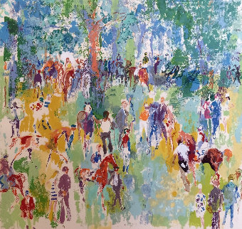 Paddock AP 1974 Limited Edition Print - LeRoy Neiman