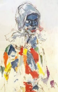 Harlequin 1980 Limited Edition Print by LeRoy Neiman