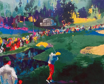 Big Time Golf Suite 1992 Limited Edition Print - LeRoy Neiman