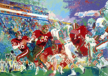 Post Season Football Classic 1985 Limited Edition Print by LeRoy Neiman