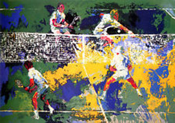 Men's Doubles  1974 Limited Edition Print by LeRoy Neiman