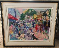 Cafe Fouquets 1993 Limited Edition Print by LeRoy Neiman - 1