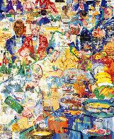 International Cuisine  1998 Limited Edition Print by LeRoy Neiman - 0