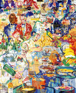 International Cuisine AP 1998 Limited Edition Print - LeRoy Neiman