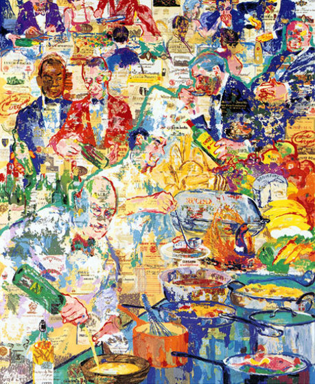 International Cuisine AP 1998 Limited Edition Print by LeRoy Neiman