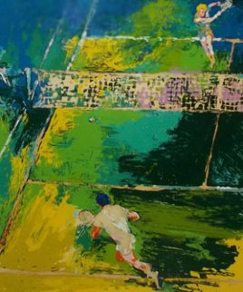 Blood Tennis 1981 Limited Edition Print - LeRoy Neiman
