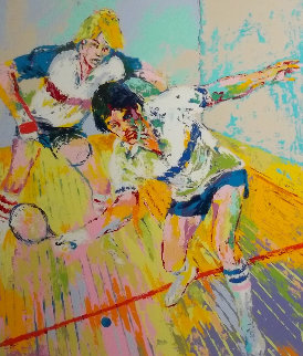 Racquetball Limited Edition Print - LeRoy Neiman