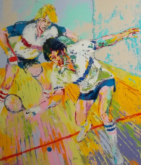 Racquetball Limited Edition Print by LeRoy Neiman