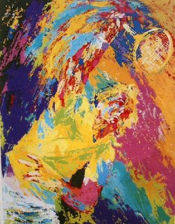Power Serve 1981 Limited Edition Print by LeRoy Neiman