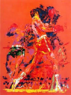 Red Boxers Limited Edition Print by LeRoy Neiman