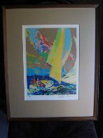 Normandy Sailing 1980 Limited Edition Print by LeRoy Neiman - 1