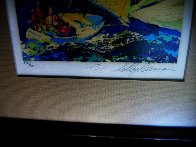 Normandy Sailing 1980 Limited Edition Print by LeRoy Neiman - 3
