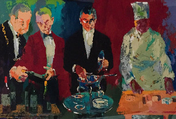Pour Vous 2002 Limited Edition Print by LeRoy Neiman