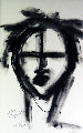 Face 2014 27x19 Original Painting - Neith Nevelson