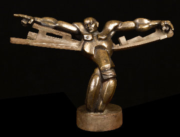 Icarus Bronze Sculpture  2007 16 in Sculpture - Ernst Neizvestny