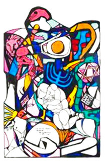 Together the Tribes of Israel AP  Limited Edition Print - Ernst Neizvestny