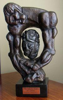 Twelve Tribes of Israel Bronze Sculpture 1978 14 in Sculpture by Ernst Neizvestny