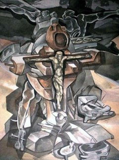 Heart of Christ 1995 Limited Edition Print - Ernst Neizvestny