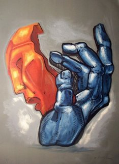 Mask in Hand PP Limited Edition Print by Ernst Neizvestny