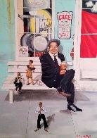 New Orleans Portrait  2004 48x36 Super Huge Original Painting by Amy Nelder - 0