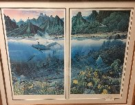 Maui Diptych 1987 Limited Edition Print by Robert Lyn Nelson - 2