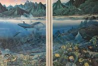 Maui Diptych 1987 Limited Edition Print by Robert Lyn Nelson - 1