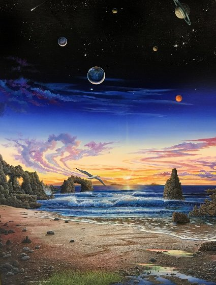 Every Night Has Its Dawn 1989 Limited Edition Print by Robert Lyn Nelson