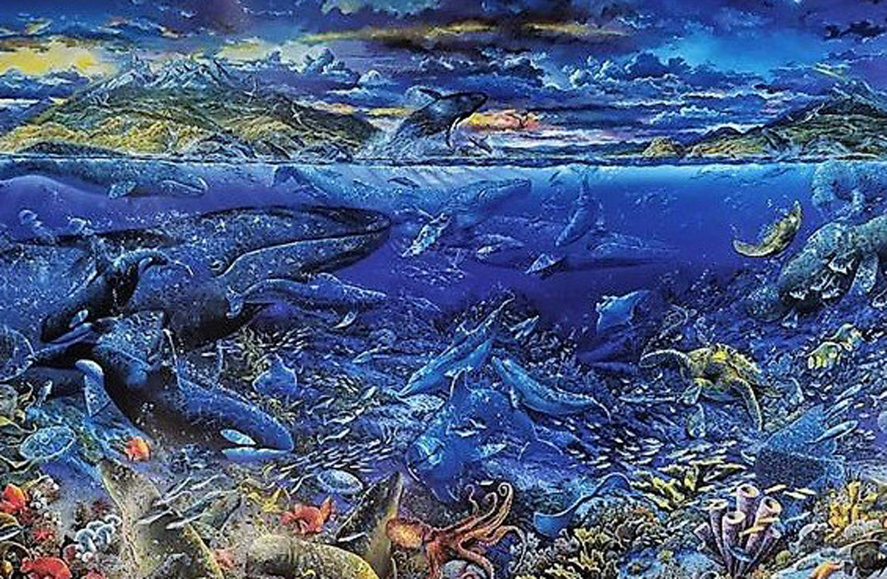 From Sea to Shining Sea 1999 Limited Edition Print by Robert Lyn Nelson