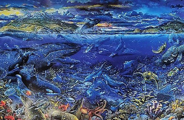 From Sea to Shining Sea 1999 Limited Edition Print - Robert Lyn Nelson