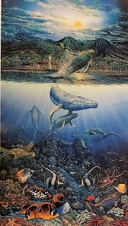 Two Worlds Today 1995 Limited Edition Print by Robert Lyn Nelson