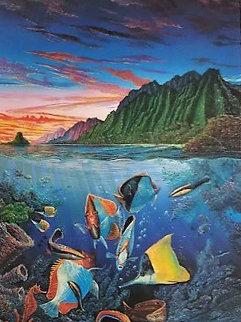 Undersea Waltz 1991 Limited Edition Print - Robert Lyn Nelson