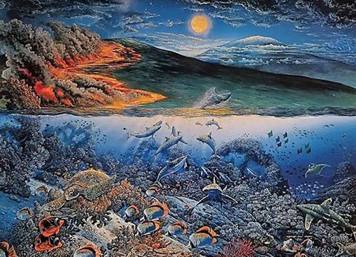 Wonders of Mahea-Lani 1994 Limited Edition Print by Robert Lyn Nelson