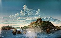 Athenian Odyssey Diptych 1985 Limited Edition Print by Robert Lyn Nelson - 2