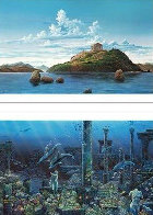 Athenian Odyssey Diptych 1985 Limited Edition Print by Robert Lyn Nelson - 1