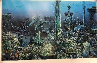 Athenian Odyssey Diptych 1985 Limited Edition Print by Robert Lyn Nelson - 3