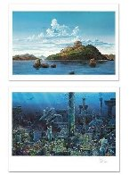 Athenian Odyssey Diptych 1985 Limited Edition Print by Robert Lyn Nelson - 4