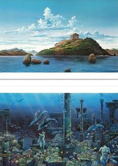 Athenian Odyssey Diptych 1985 Limited Edition Print by Robert Lyn Nelson