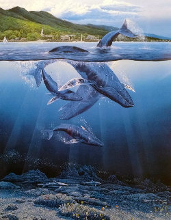 Extinction is Forever AP  1984 Limited Edition Print - Robert Lyn Nelson