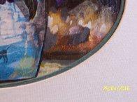 Beauty of Seurat 1997 26x22 Original Painting by Robert Lyn Nelson - 3