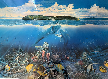 Molokini First Breath 1985  Limited Edition Print - Robert Lyn Nelson