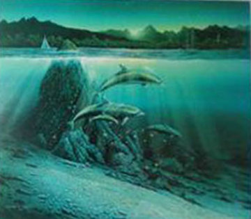 Kona Dawn 1981  Limited Edition Print by Robert Lyn Nelson