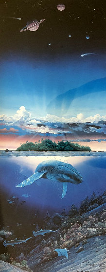 Untitled - Ecosystems 1982 Limited Edition Print by Robert Lyn Nelson